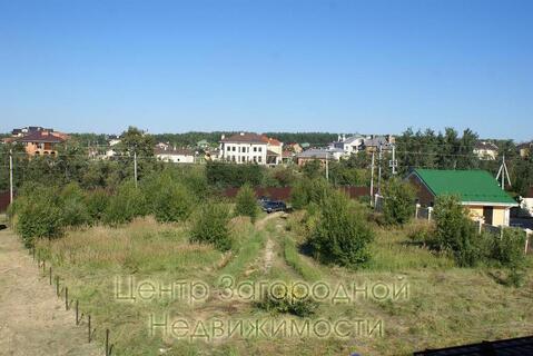Участок, Киевское ш, 25 км от МКАД, Птичное, коттеджный поселок. . - Фото 1