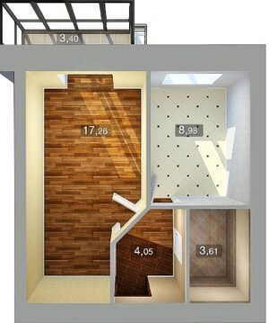 В центре Казани ул.Николая Ершова 4 продается однокомнатная квартира - Фото 4