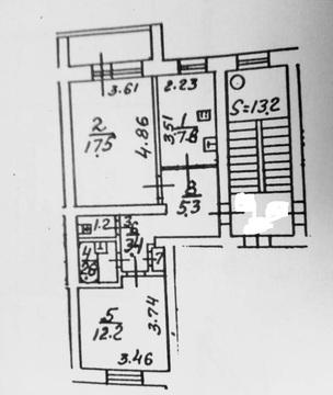 Продажа 2 комнатной квартиры Подольск Ленина 111 - Фото 2