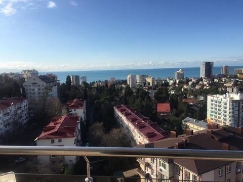 Продам 2 ком. в Сочи с ремонтом и шикарным видом на море - Фото 3