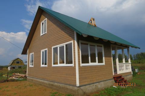 Новый Дом, 8 соток, Лесное Озеро - Фото 1