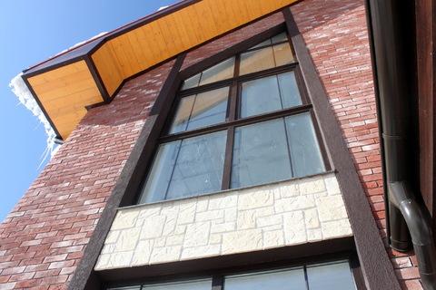 Кирпичный дом под ключ по индивидуальному проекту в поселке Гайд Парк - Фото 1