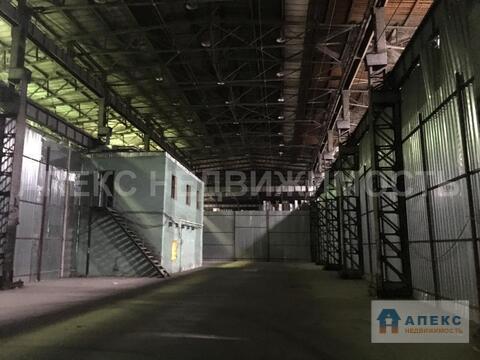Аренда помещения пл. 1072 м2 под склад, м. Авиамоторная в складском . - Фото 4