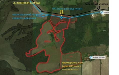 Земельный участок в Сторожиловском районе Рязанской области - Фото 2