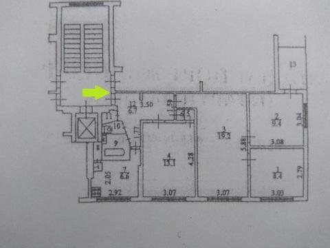 Клин 4-х.комнатная Квартира Дзержинского 16 - Фото 1