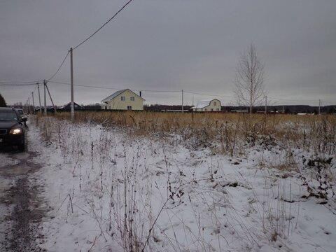 Земельный участок 65 соток в д. Богословское Т.О. ул Березовая аллея - Фото 1