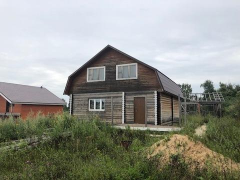 Дом 150 кв.м, д. Ботвинино Чеховский район, 37 км от МКАД - Фото 1