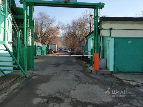 Гараж в Москва Хибинский проезд, 1с1 (44.6 м) - Фото 1