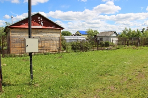 Продаю бревенчатый дом, земельный участок 9 соток в д. Титово - Фото 1