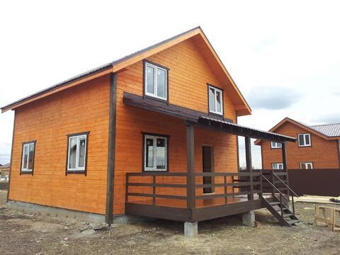 Продается новый каркасный дом 146м2 на 9 сотках с.Малышево - Фото 1