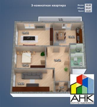 Квартира, ул. 8 Марта, д.17 к.А - Фото 3