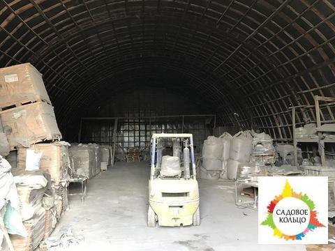 Под склад, 5 ангаров, неотапл, выс. потолка: 8 м, эл-во 180 ква, ж/д - Фото 1