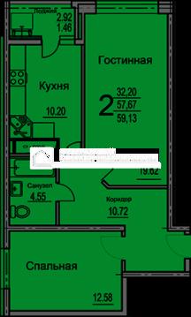 Продажа квартиры, Воронеж, Ул. Суворова - Фото 2