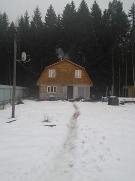 Дача под Волоколамском 12 соток + дом - Фото 1