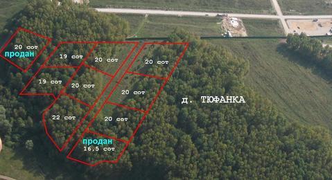 Продаются красивейшие лесные участки в д. Тюфанка - Фото 1