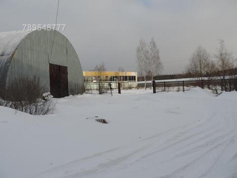 Холодный арочный ангар в Нарофоминске - Фото 1