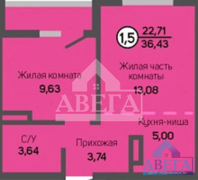 Объявление №66333577: Продаю 1 комн. квартиру. Оренбург, ул. Салмышская, д. 11/1, стр 1,
