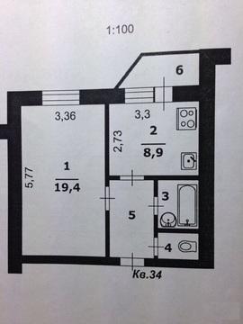 1-комнатная квартира Щорса 48 - Фото 2