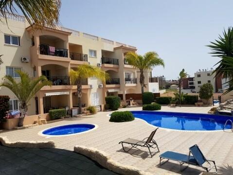 Замечательный двухкомнатный апартамент недалеко от моря в Пафосе - Фото 2