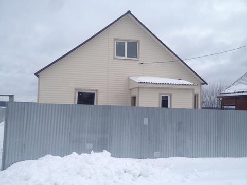 Дом ПМЖ 140 кв.м. на участке 25 соток в д.Лизуново, Продажа домов и коттеджей в Струнино, ID объекта - 502555352 - Фото 1