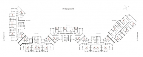 1 комнатная квартира в ЖК Царицынский 6 - Фото 2
