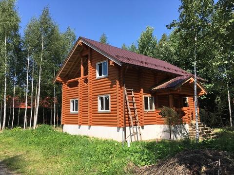 Дом 160м2, 10сот, Киевское ш, 55 км, кп Лесная радуга - Фото 2