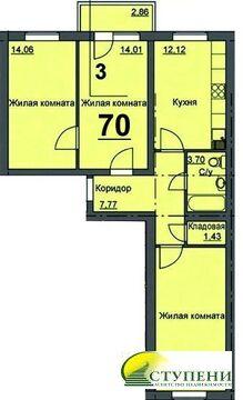 Продажа квартиры, Курган, 16 микрорайон, Купить квартиру в Кургане, ID объекта - 332279827 - Фото 1