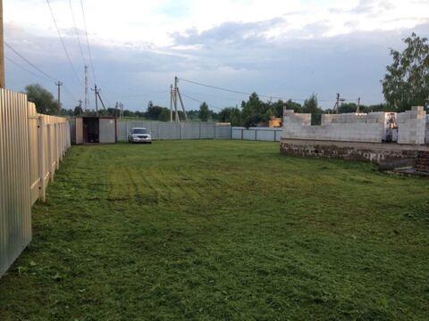 Продажа участка с новым фундаментом в Волоколамске Шаховской проезд - Фото 5