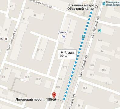 Сдается помещение 356,3м2 на 1эт на Лиговском пр, д.185 - Фото 4