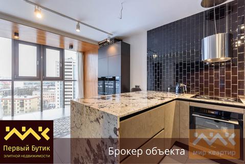 Стильная квартира полностью готовая для жизни в новом доме у метро - Фото 1