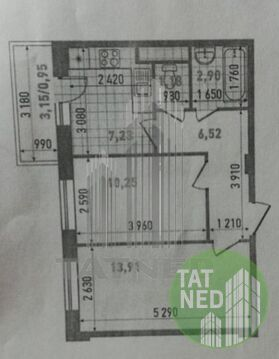 Продажа: Квартира 2-ком. Тэцевская 4а - Фото 1