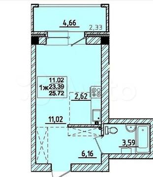 Объявление №66526477: Квартира 1 комн. Маркова, Березовый мкр., 255,