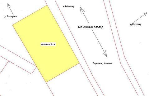 Продажа земельного участка 1 га возле д.Крутец Богородского р-на - Фото 3