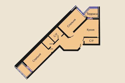 Вашему вниманию продаётся отличная 2 комнатная квартира в ЖК o2xygen - Фото 5