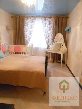 Просторная трехкомнатная квартира с застекленной лоджией, отделка и . - Фото 4