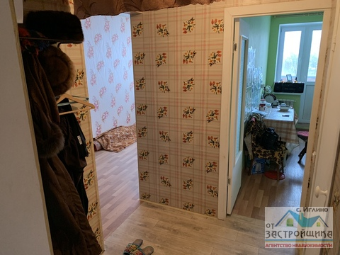 Продам 1-к квартиру, Иглино, улица Ворошилова 28и - Фото 2