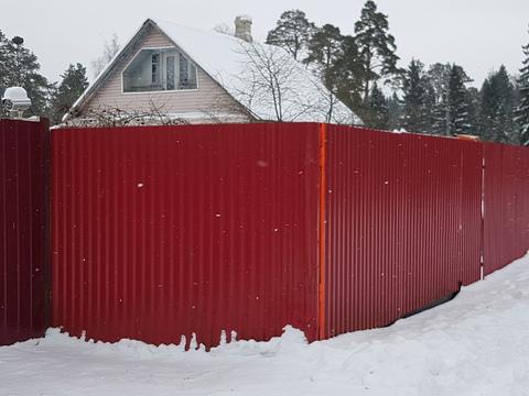 Теплый 2этажный, бревенчатый дом в Нежново - Фото 1