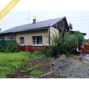 Дом с централизованными коммуникациями, с. Краснореченское. - Фото 1
