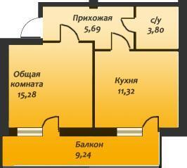 Продается 1-комн. квартира 42.9 кв.м, Евпатория - Фото 3