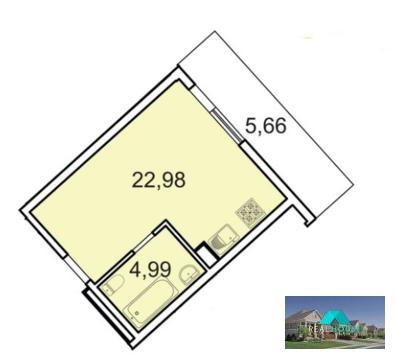 Продам апартаменты студию в МФК бизнес класса лахта парк - Фото 1