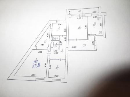 Продам 4-комн. квартиру вторичного фонда в Железнодорожном р-не - Фото 2
