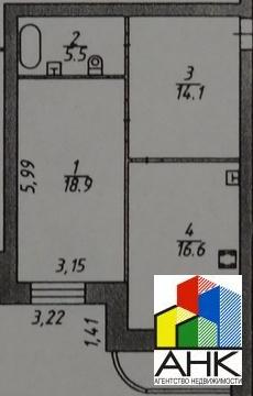 Квартира, ул. Республиканская, д.51 к.к3 - Фото 2