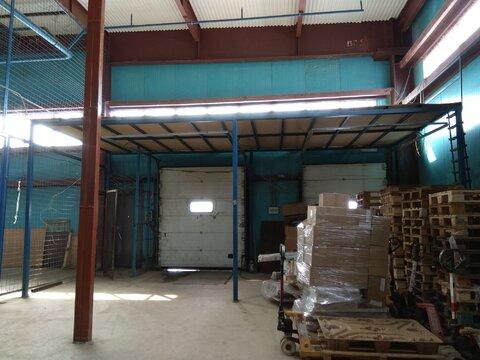 Теплый склад 550 м2 с 2 пандусами и офисом в Машково в 11 км от МКАД - Фото 4