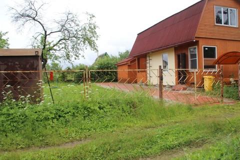 Дача кирпично-брусовая на участке 4 сотки в СНТ Агрохимик - Фото 2
