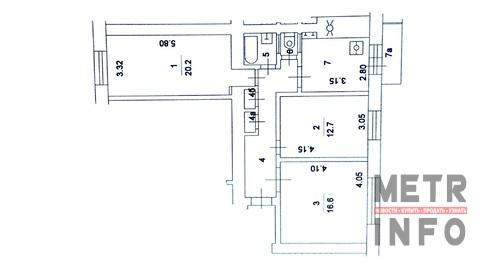 Продажа трехкомнатной квартиры, улица Строителей, 11к2 - Фото 4