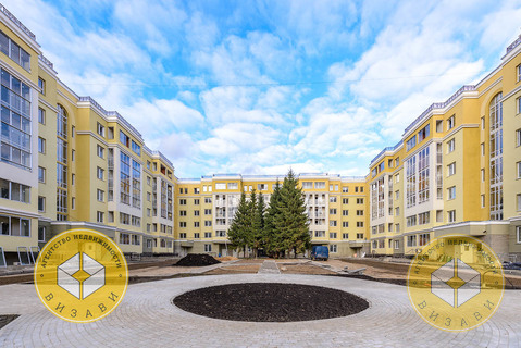 """1к квартира 39 кв.м. Звенигород, центр, Почтовая 36, ЖК """"Центральный"""" - Фото 1"""