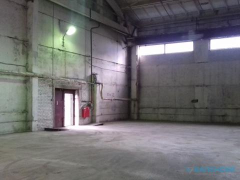 Аренда теплого склада 325.6м2, 1эт, потолок h-9м, ул. М.Новикова 28. - Фото 1