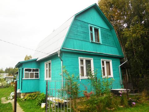 Дача из бревна 65 (кв.м). Летняя кухня + Баня. Участок 6 соток. - Фото 1