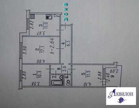 Продаю 3-комнатную на Лаптева,4 - Фото 2