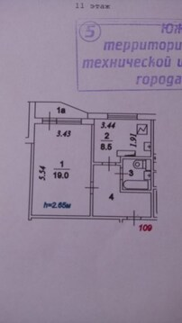 А52824: 1 квартира, Москва, м. Борисово, Мусы Джалиля, д.7к4 - Фото 2